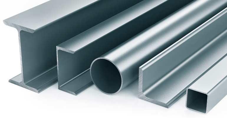 Gran variedad de productos de hierro y acero